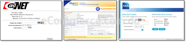 Opciones de pago en línea adquirientes República Dominicana