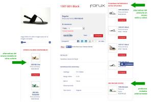 Utiliza bloques de productos recomendados en tu merchandising para aumentar la conversión.