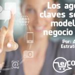 Los agentes claves según el modelo de negocio online